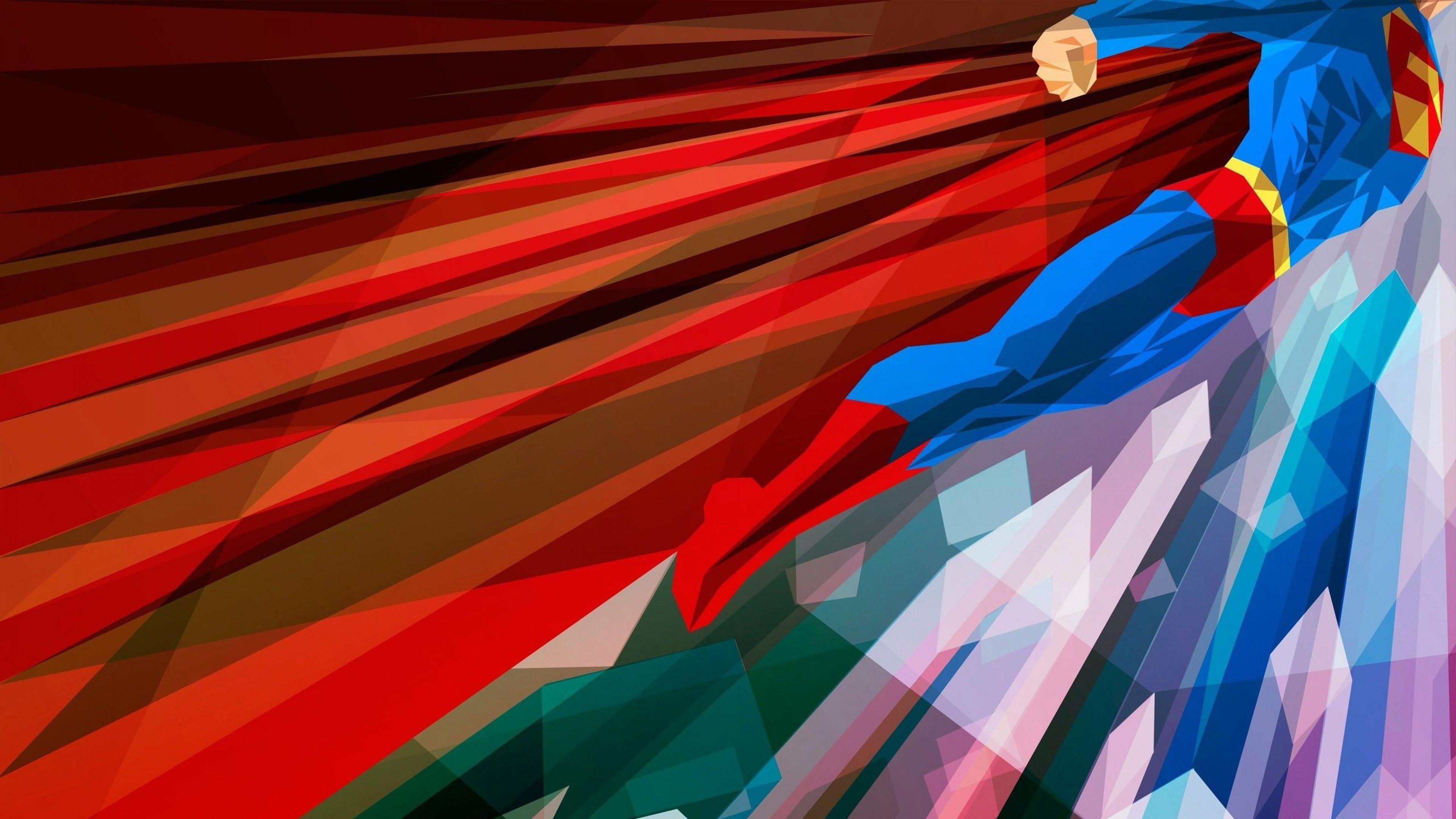 Download Wallpaper 3840x2160 Superhero Superman Bright 4K Ultra HD 3840x2160