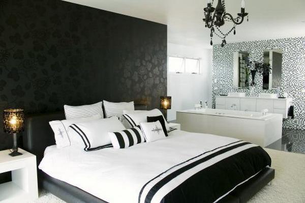Wallpaper Designs Bedrooms Ideas   bedroom interior design wallpaper 600x399