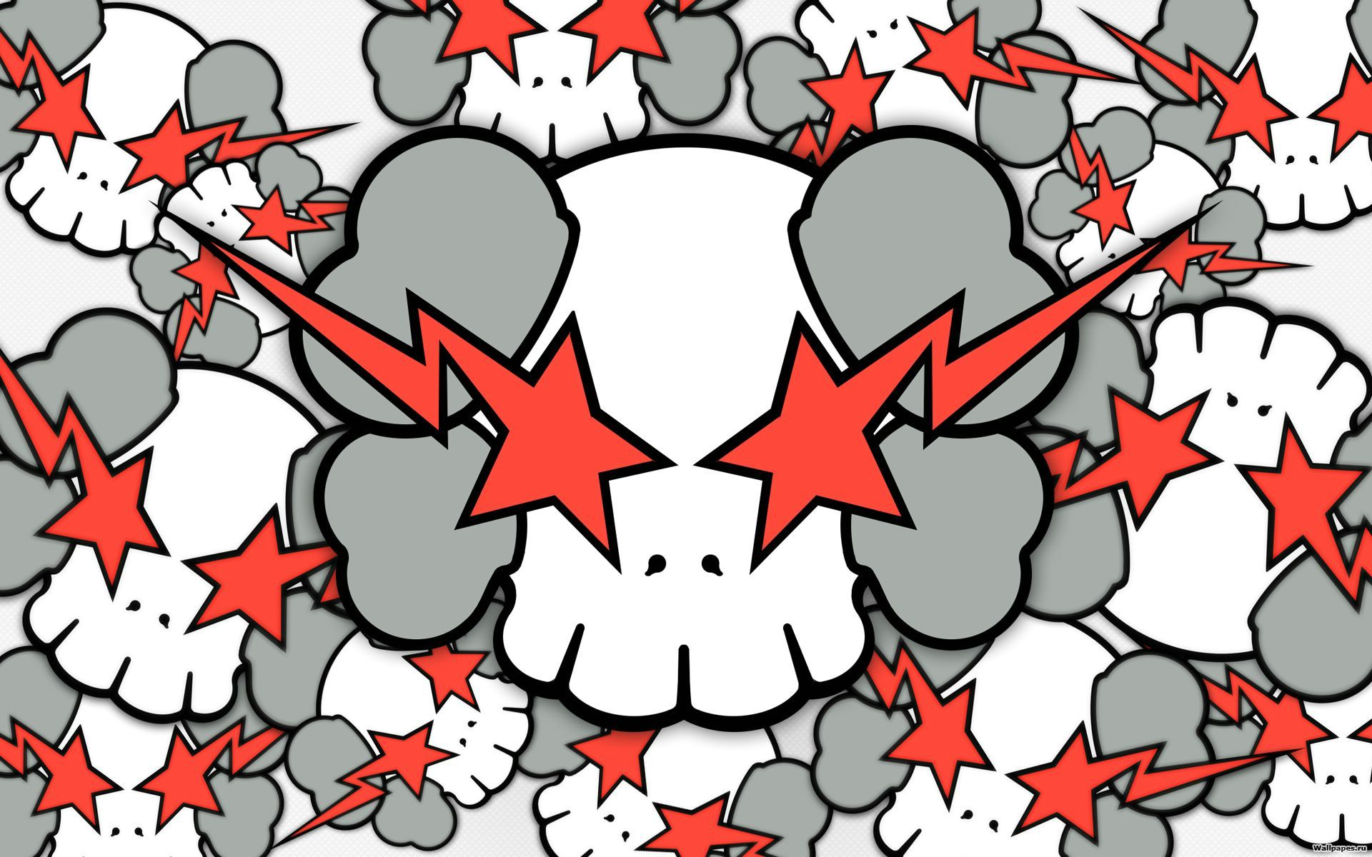 Star Struck Skull Wallpapers Star Struck Skull Myspace Backgrounds 1920x1200