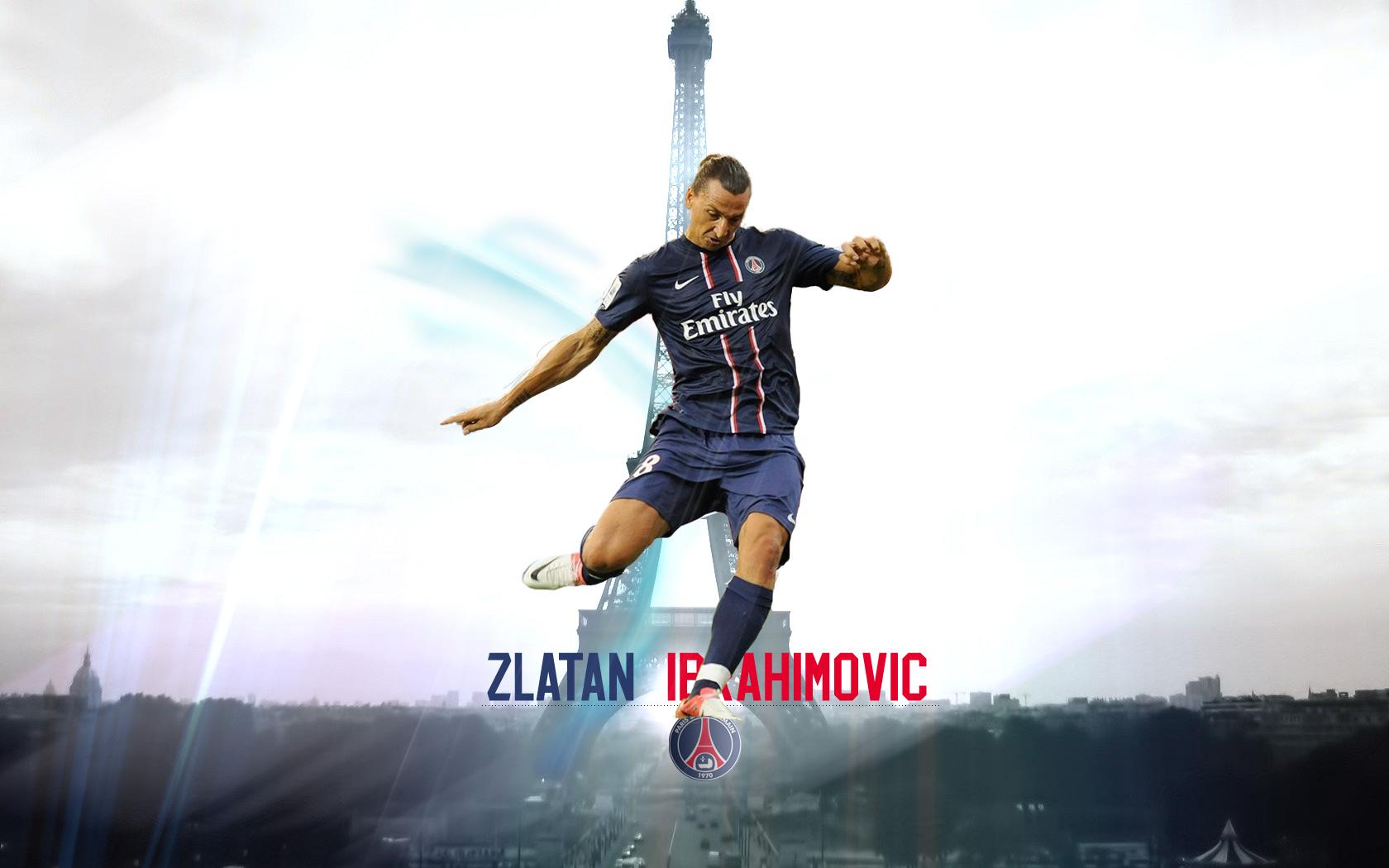Zlatan Ibrahimovic PSG 2015 Wallpaper HQ Wallpaper WallpaperLepi 1680x1050