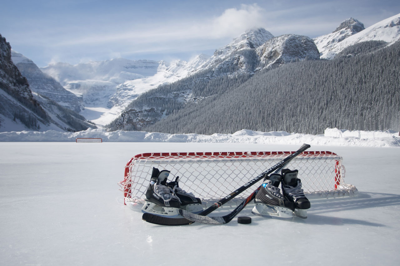 Free Download Viewing Gallery For Pond Hockey Background 1280x852