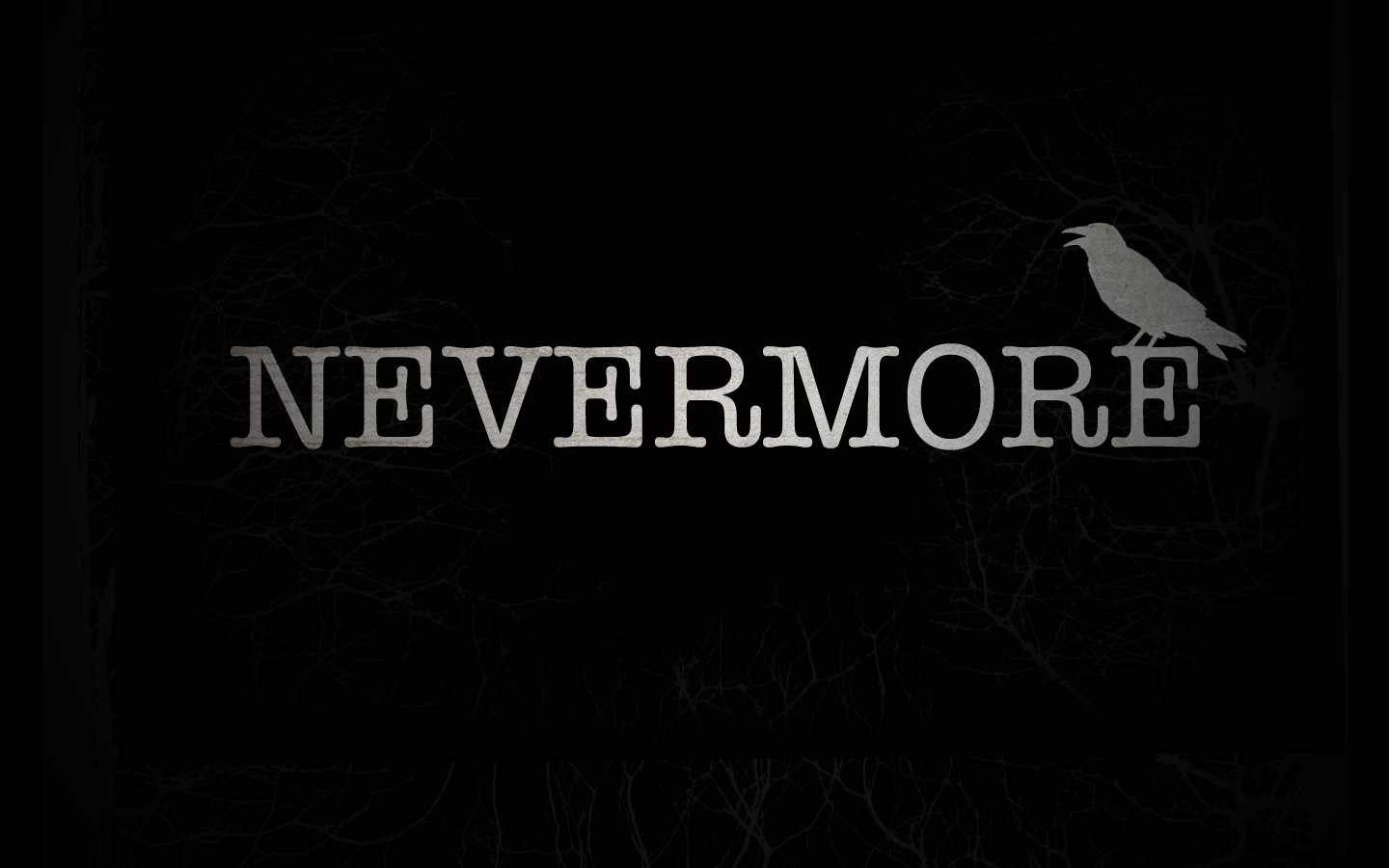 The Raven Poem by Edgar Allan Poe Nevermore Wallpaper and 1440x900