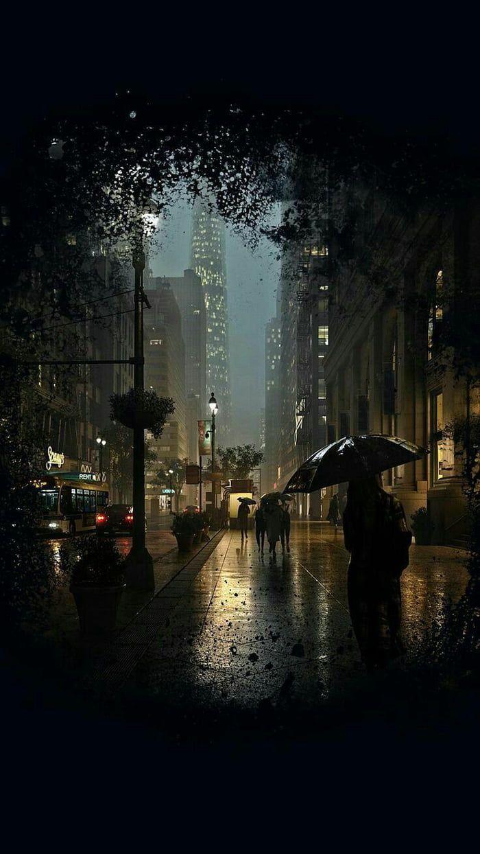 Wallpaper Rainy wallpaper Rainy wallpaper iphone City rain 700x1244