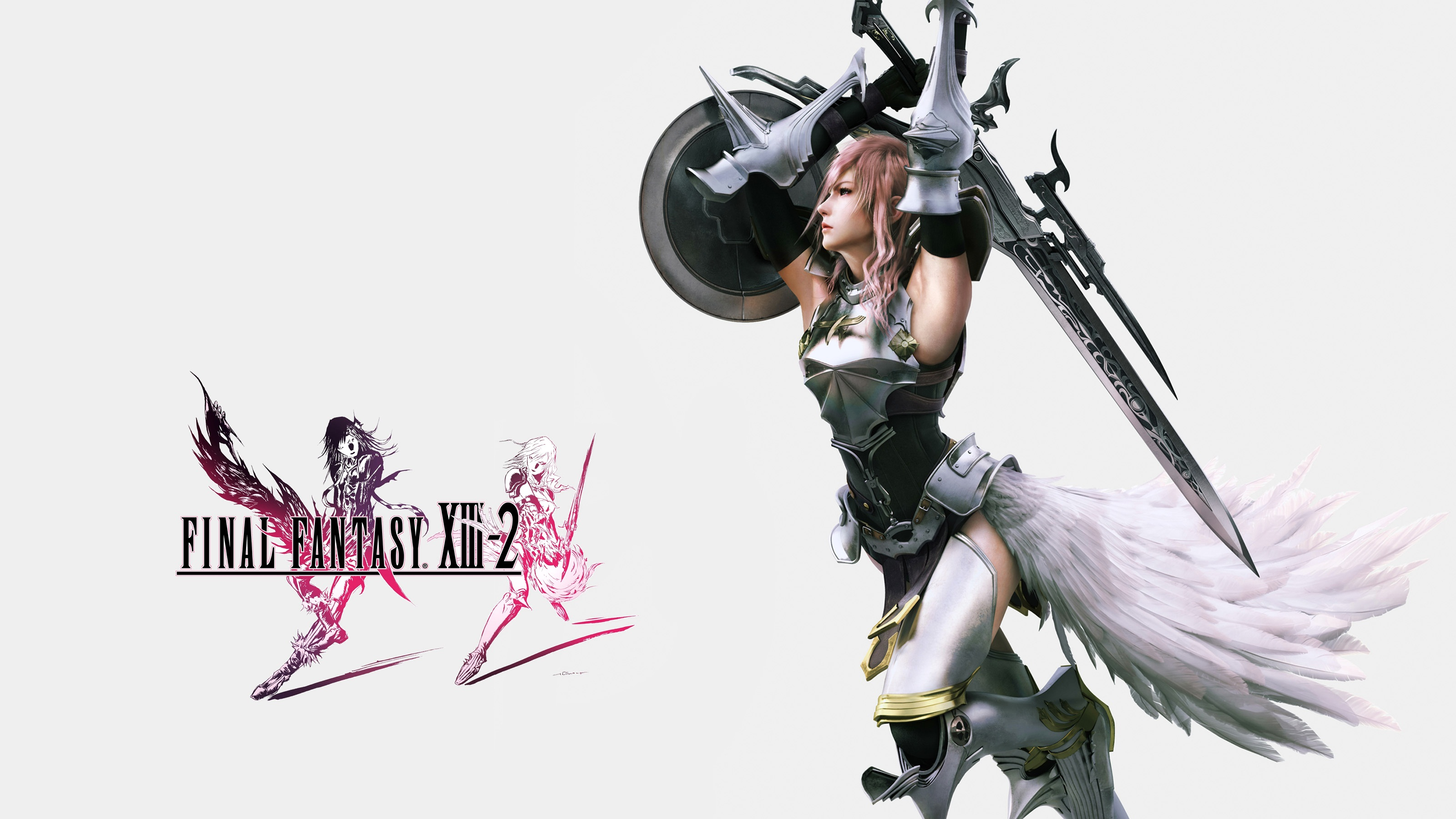 Final Fantasy XIII 2 Lightning Wallpapers HD Wallpapers 3200x1800