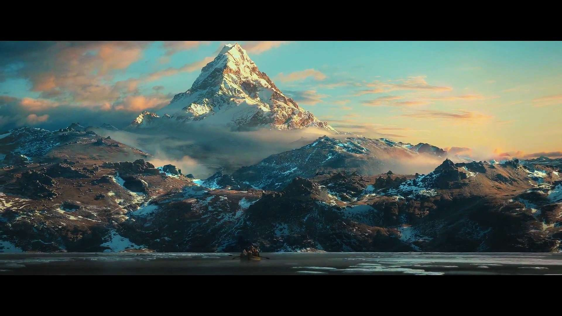 14026 the hobbit the desolation of smaug the lonely mountainjpg 1920x1080