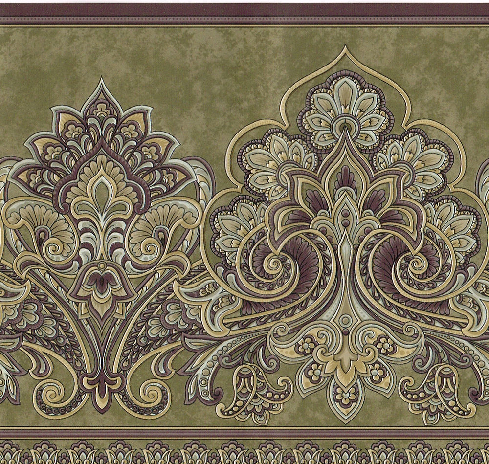 Free Download Croscill Victorian Paisley Jacobean Floral Floral