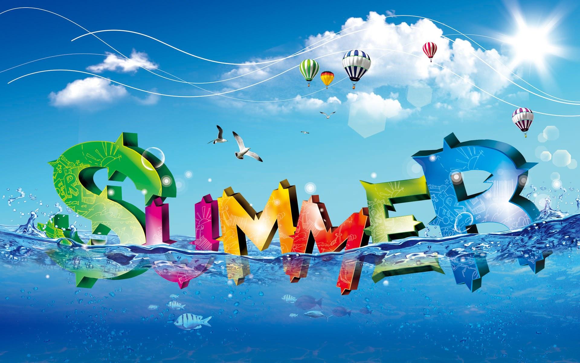 Cool Summer computer desktop wallpaper 1920x1200