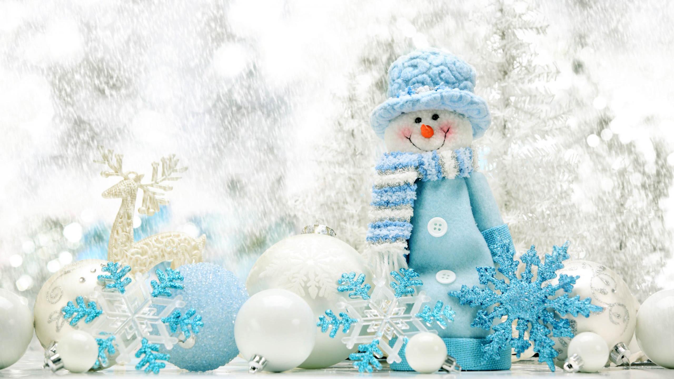 Cute snowman Wallpapers HD HD Desktop Wallpapers 2560x1440