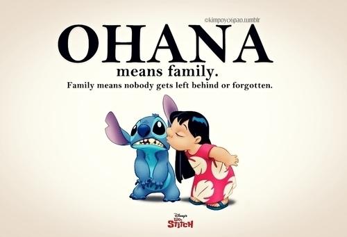 Citados Ohana means family Lilo Stitch 500x341