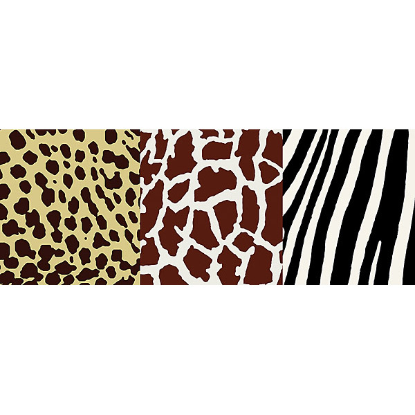 NGB94601 Multi Animal Print Border   Kenya   Brewster Wallpaper 600x600
