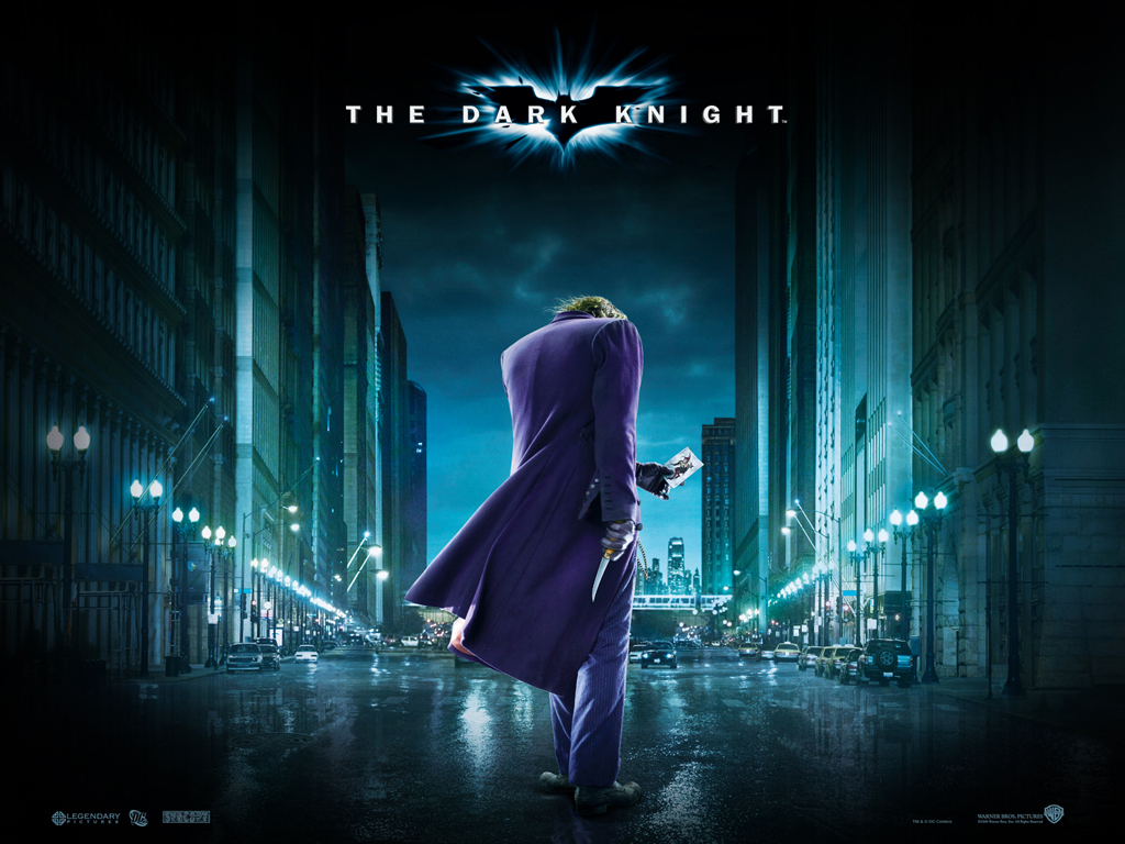 Download Batman Dark Knight wallpaper Joker of Batman Dark Knight 1024x768