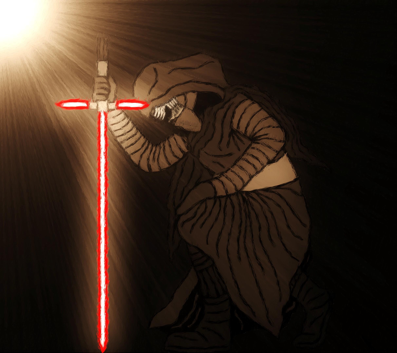 The Knight of Ren by Jones6192 2424x2149