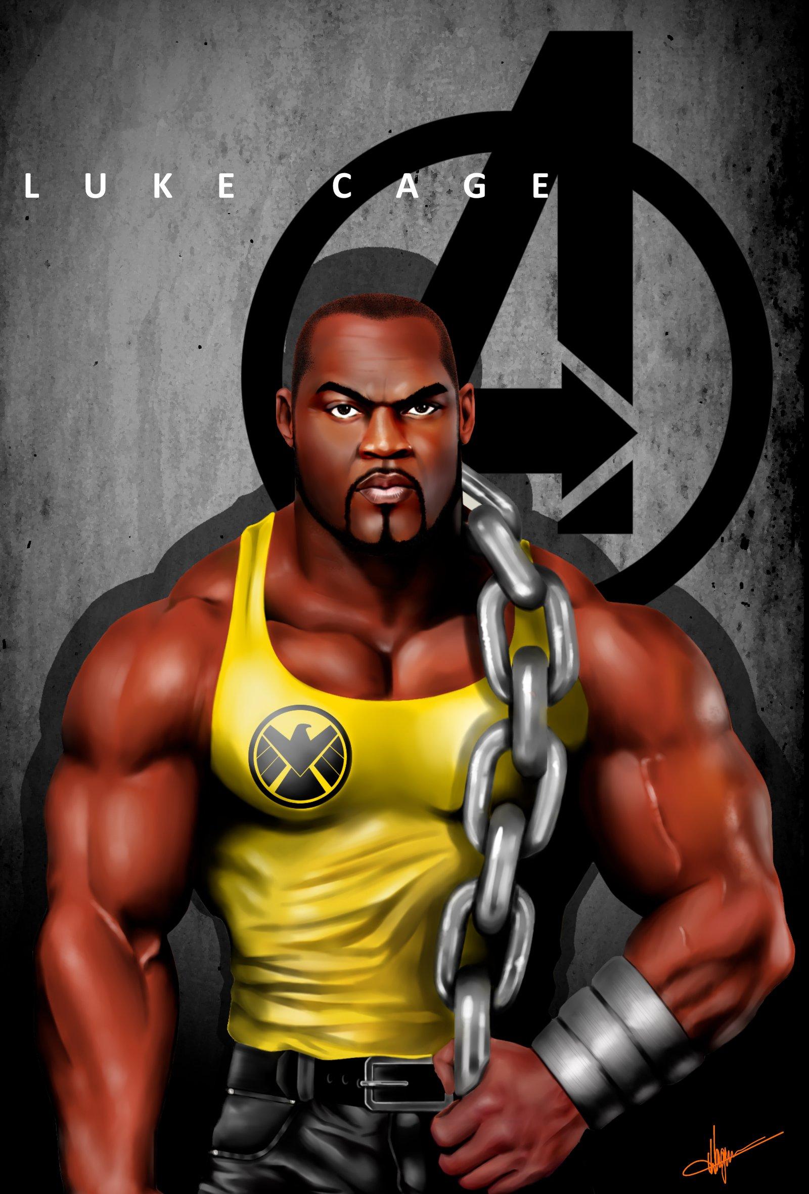 Luke Cage Marvel Wallpaper wwwpixsharkcom   Images 1600x2359
