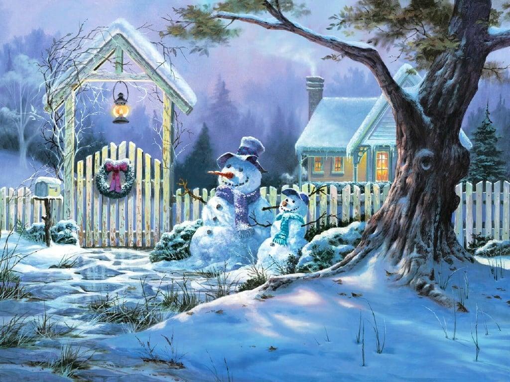 white christmas snow scenejpg 1024x768