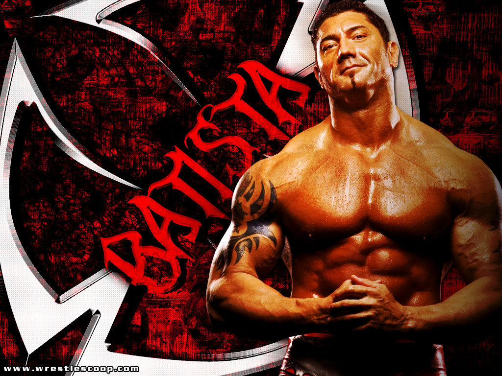 WWE WRESTLING CHAMPIONS WWE Batista Wallpapers 1024x768