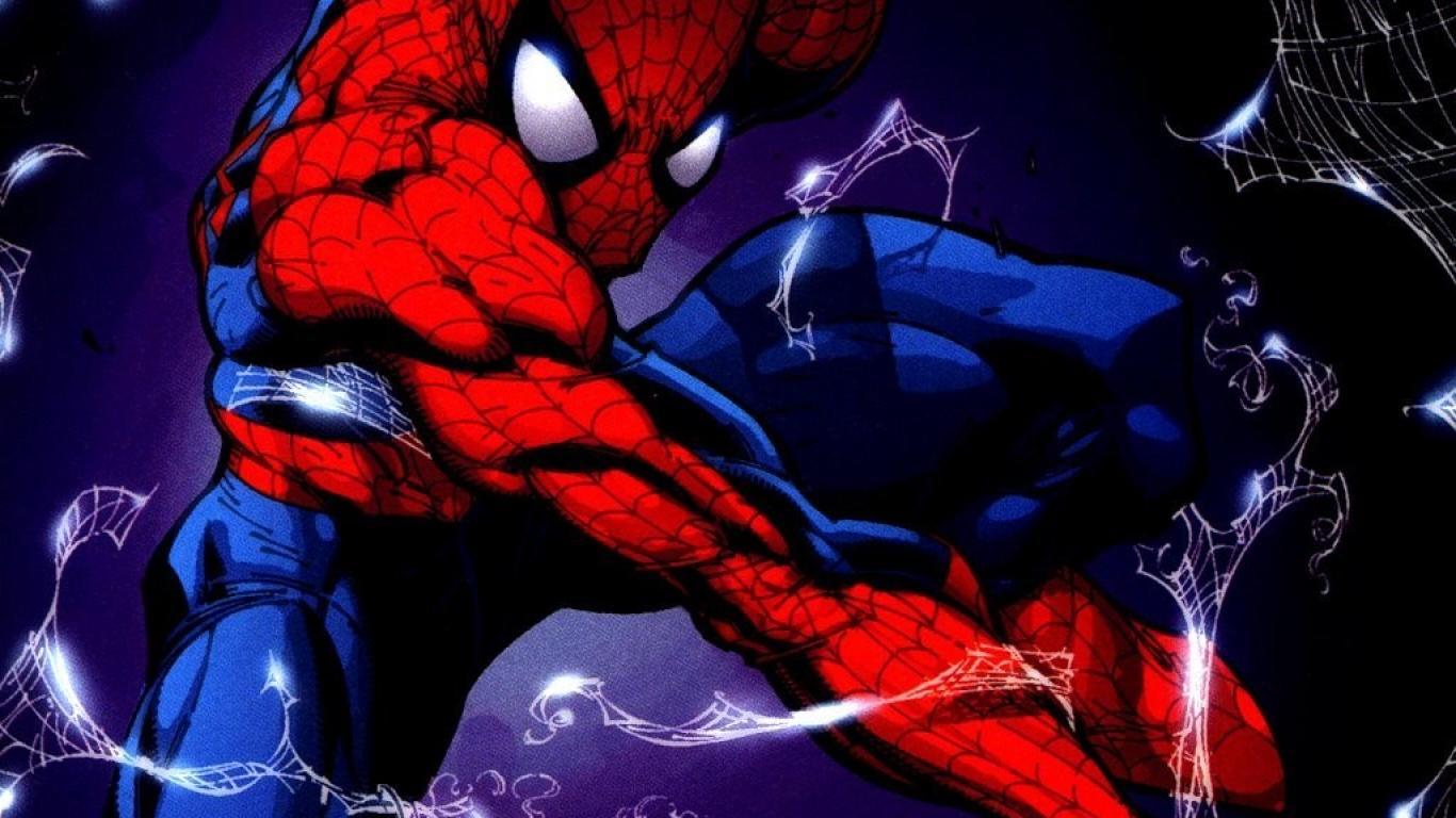 comics spider man superheroes marvel peter parker comic books 1366x768 1366x768