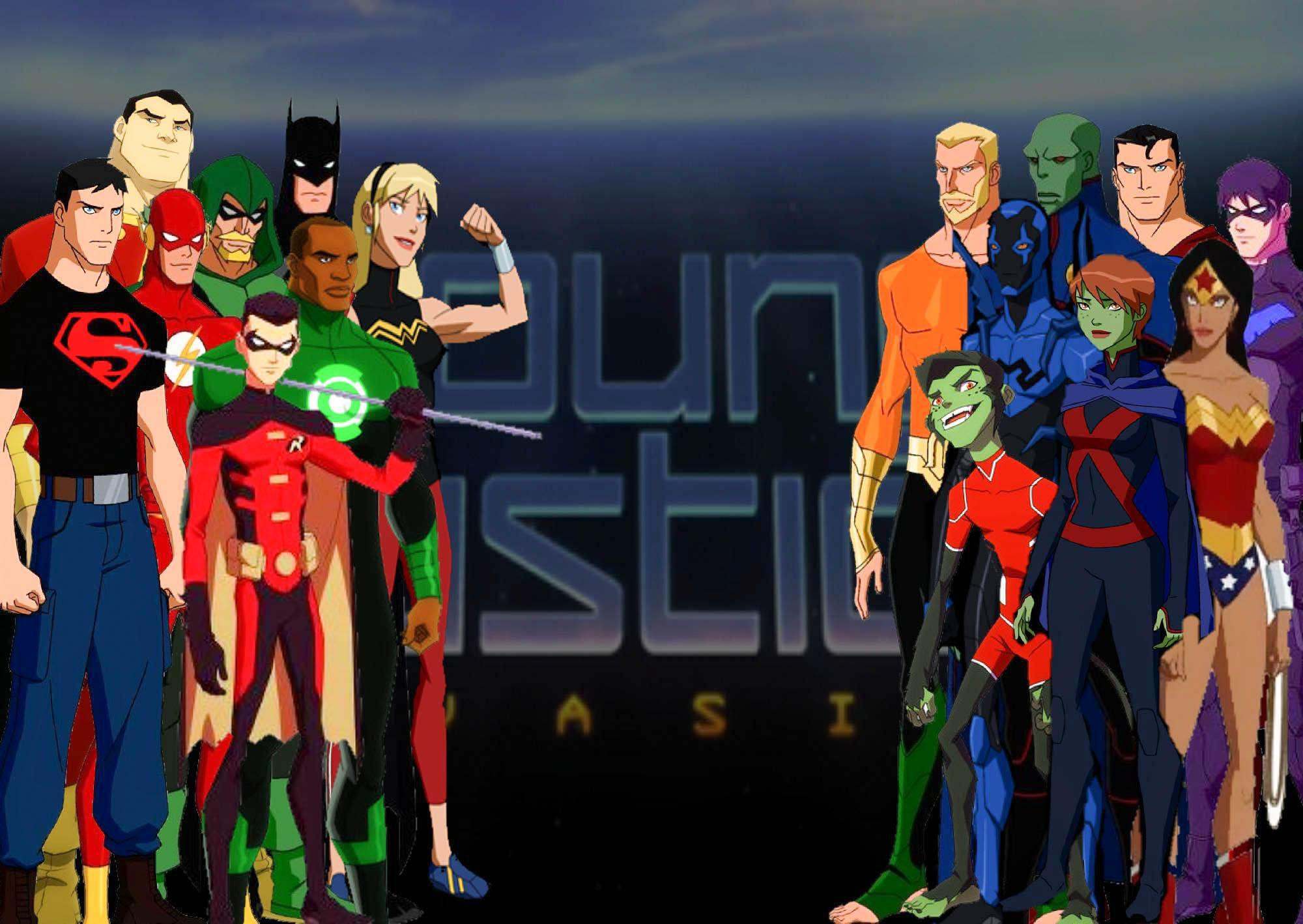 Young Justice Wallpapers 2000x1418