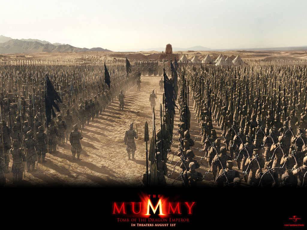 Army The Mummy 3 Movie screens wallpaper   Fantasy Movies Wallpaper 1024x768
