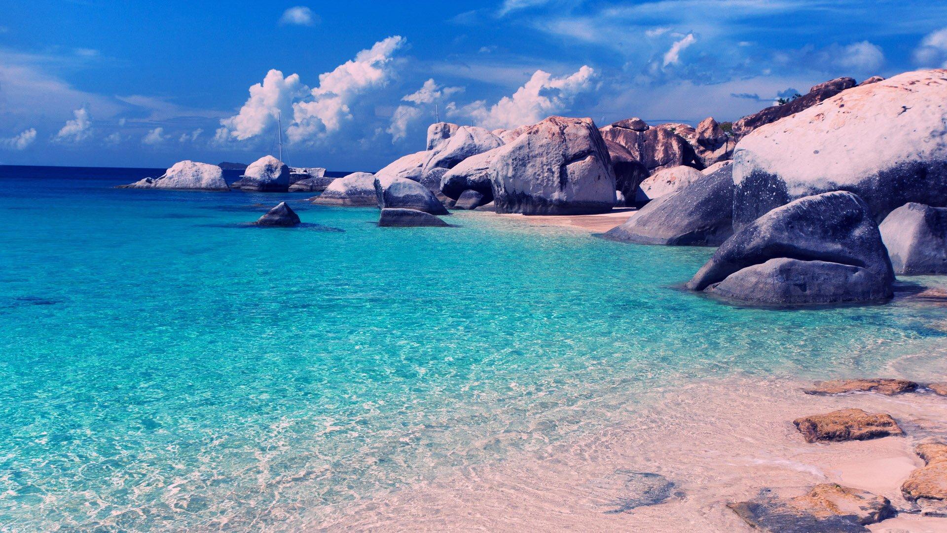 Beautiful Beach Backgrounds 1920 215 1080 Wallpaper 1920x1080