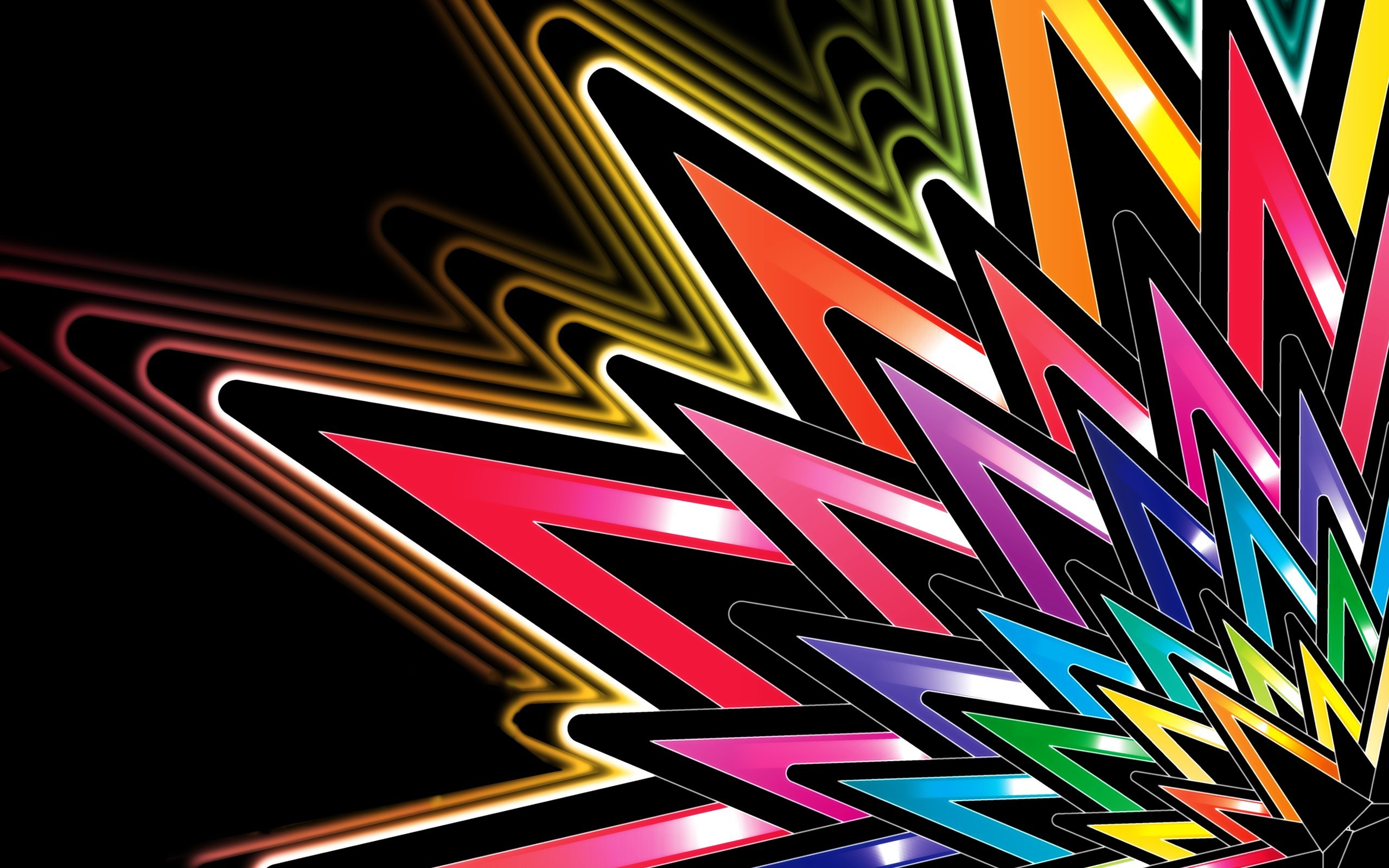 Free Bright Colors Abstract Wallpapers