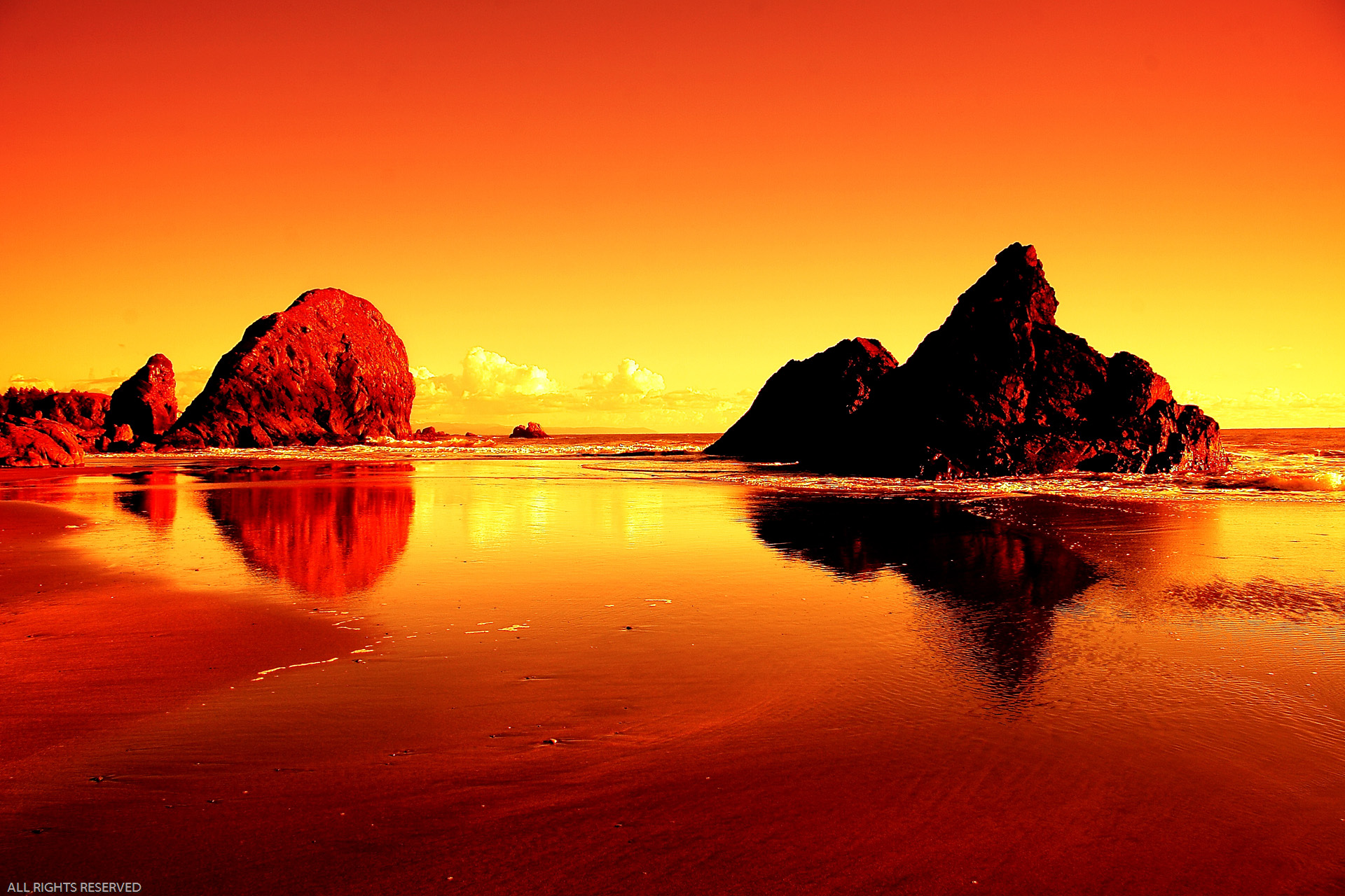 Most beautiful sunset wallpapers wallpapersafari for Paesaggi bellissimi per desktop