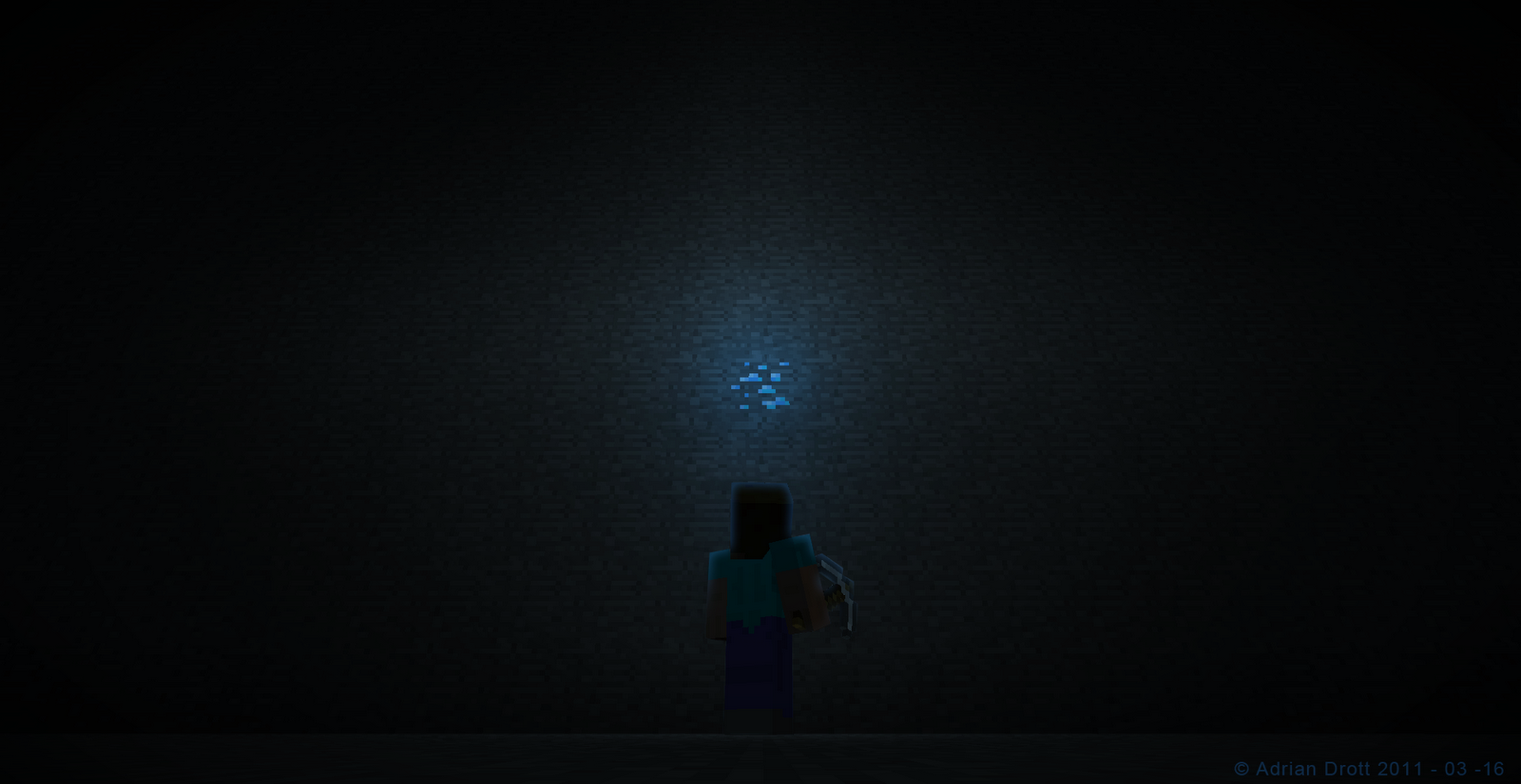Minecraft Diamond Ore Wallpaper Wyatttwirp minecraft diamond 1600x826