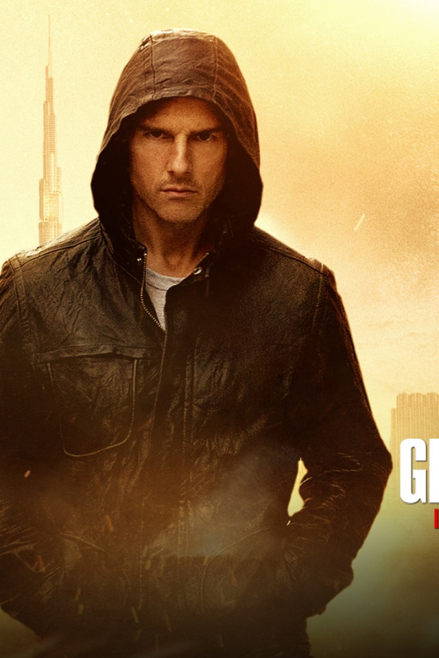640x960 Tom Cruise MI4 Iphone 4 wallpaper 640x960