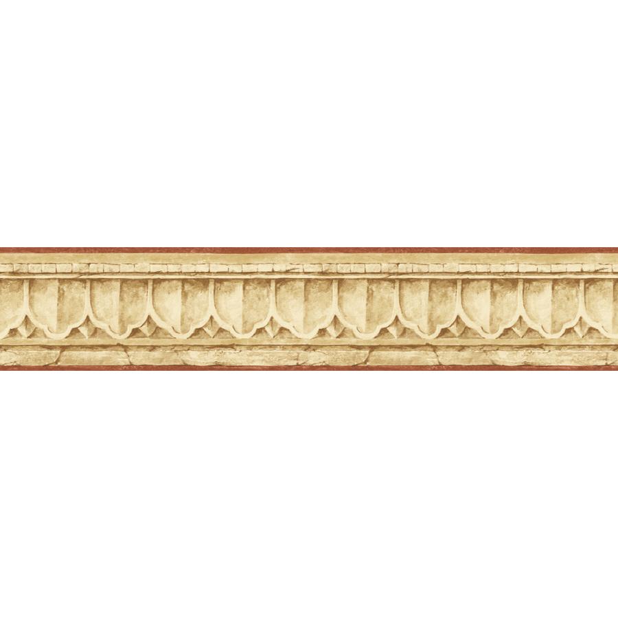Sunworthy 4 18 Crown Molding Prepasted Wallpaper Border at Lowescom 900x900