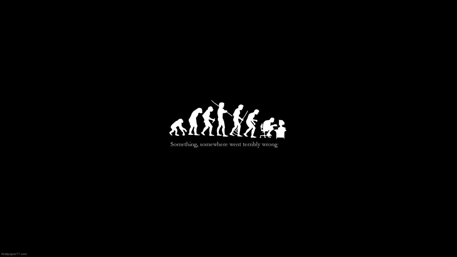 funny evolution ironic wallpapers wallpaper desktop cute fun 1920x1080
