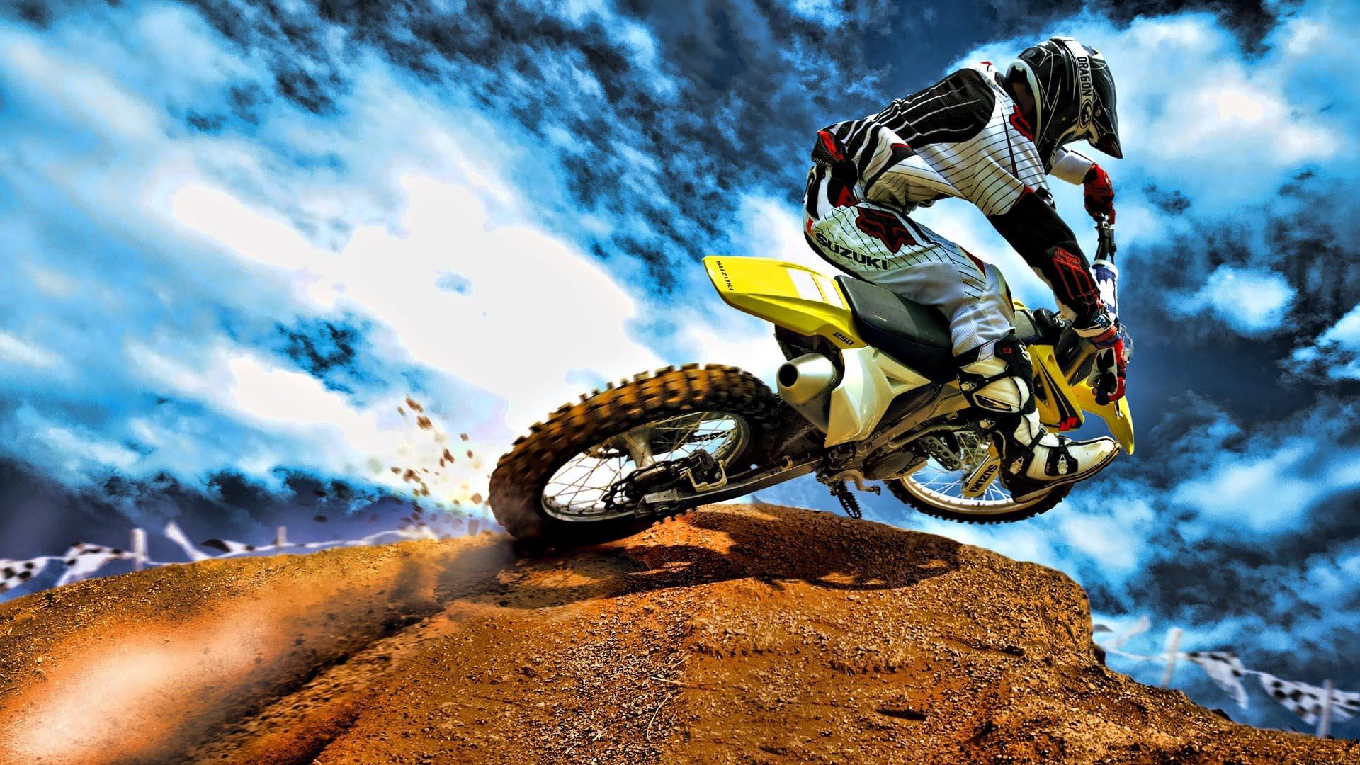 Motocross HDR Bike HD Wallpaper FullHDWpp   Full HD Wallpapers 1920x1080