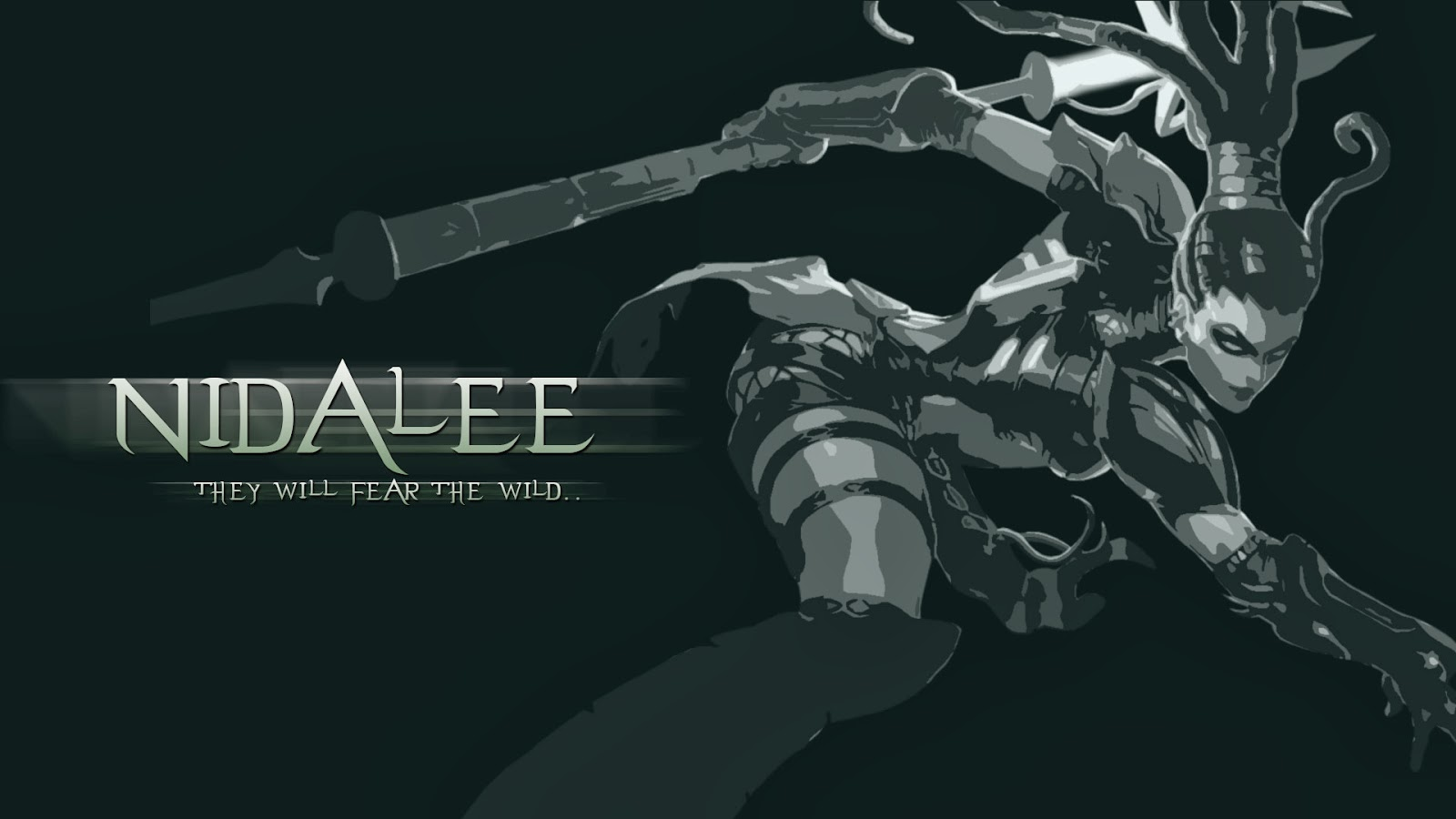 Nidalee League of Legends Wallpaper Nidalee Desktop Wallpaper 1600x900