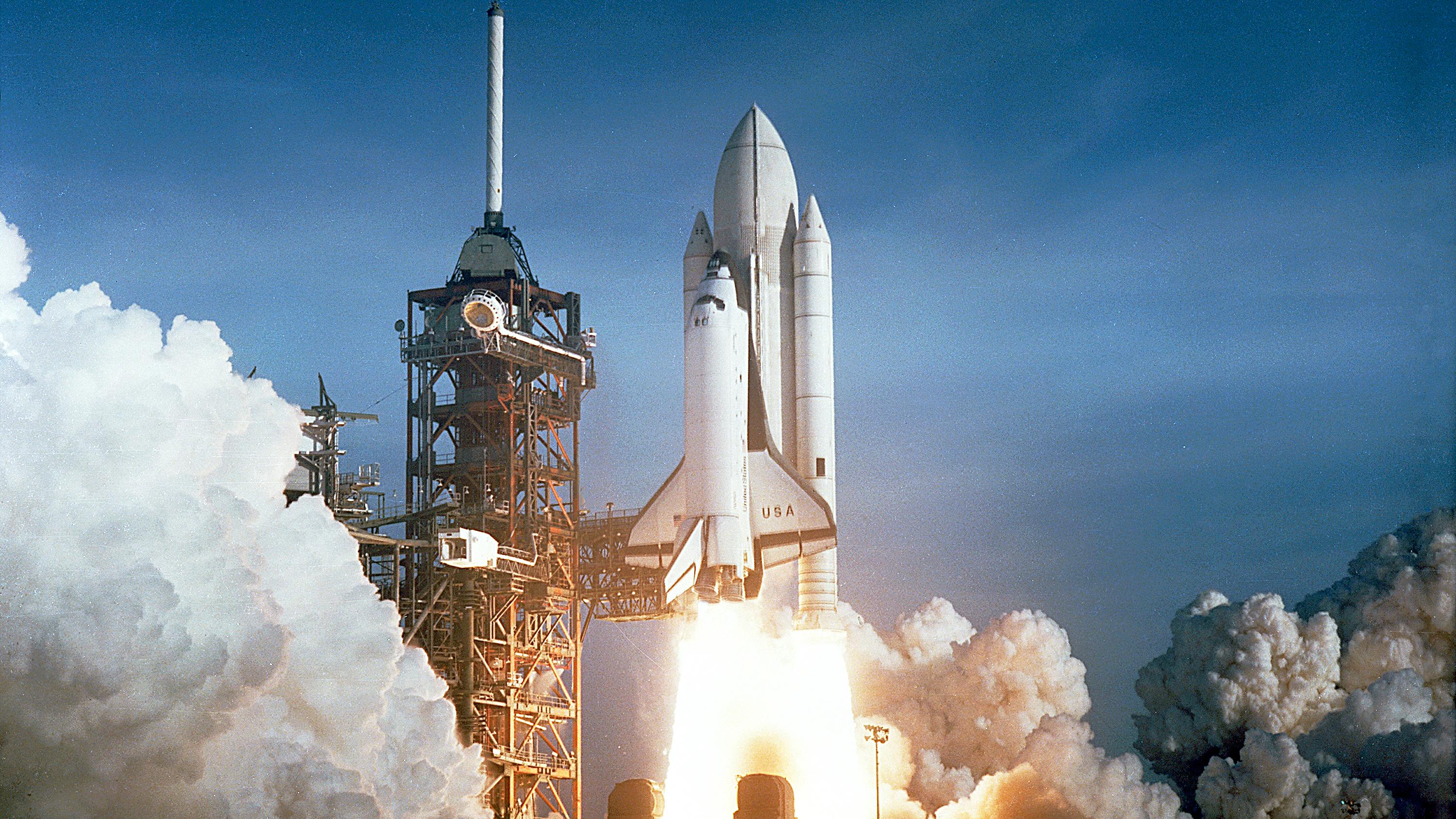 Other Space Shuttle Launch - Science Wallpaper Image featuring Space