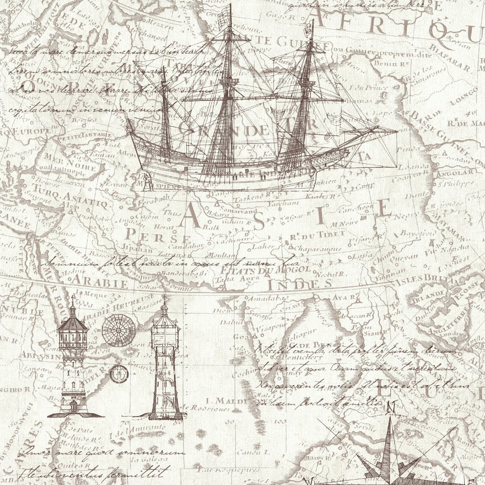 antique nautical map wallpaper wallpapersafari