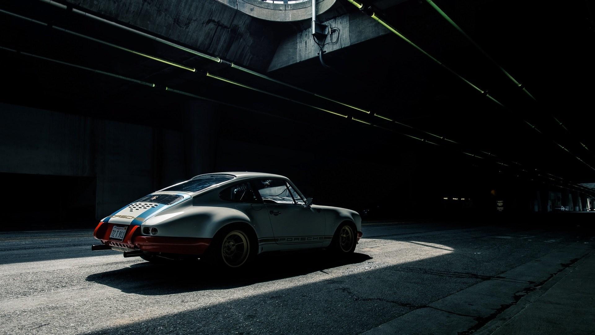 Tunnel Porsche 911 Back Hd Wallpaper Wallpaper List 1920x1080