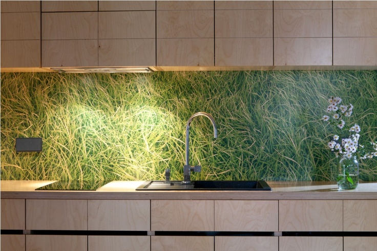 Kitchen Wallpaper Backsplash Favorite Places Spaces Pinterest 736x490