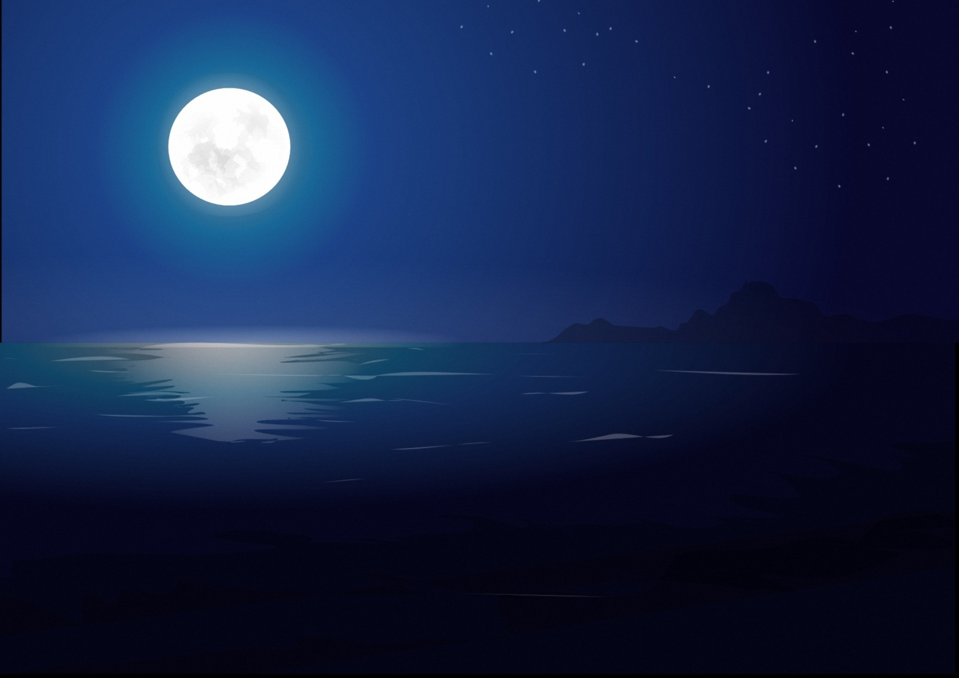 night ocean wallpaper wallpapersafari
