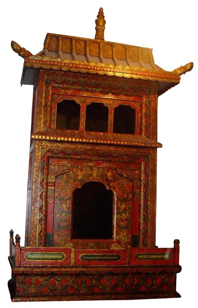Wood Furniture On Tibetan Wood Shrine Furniture Tfa105 China Tibetan 400x621