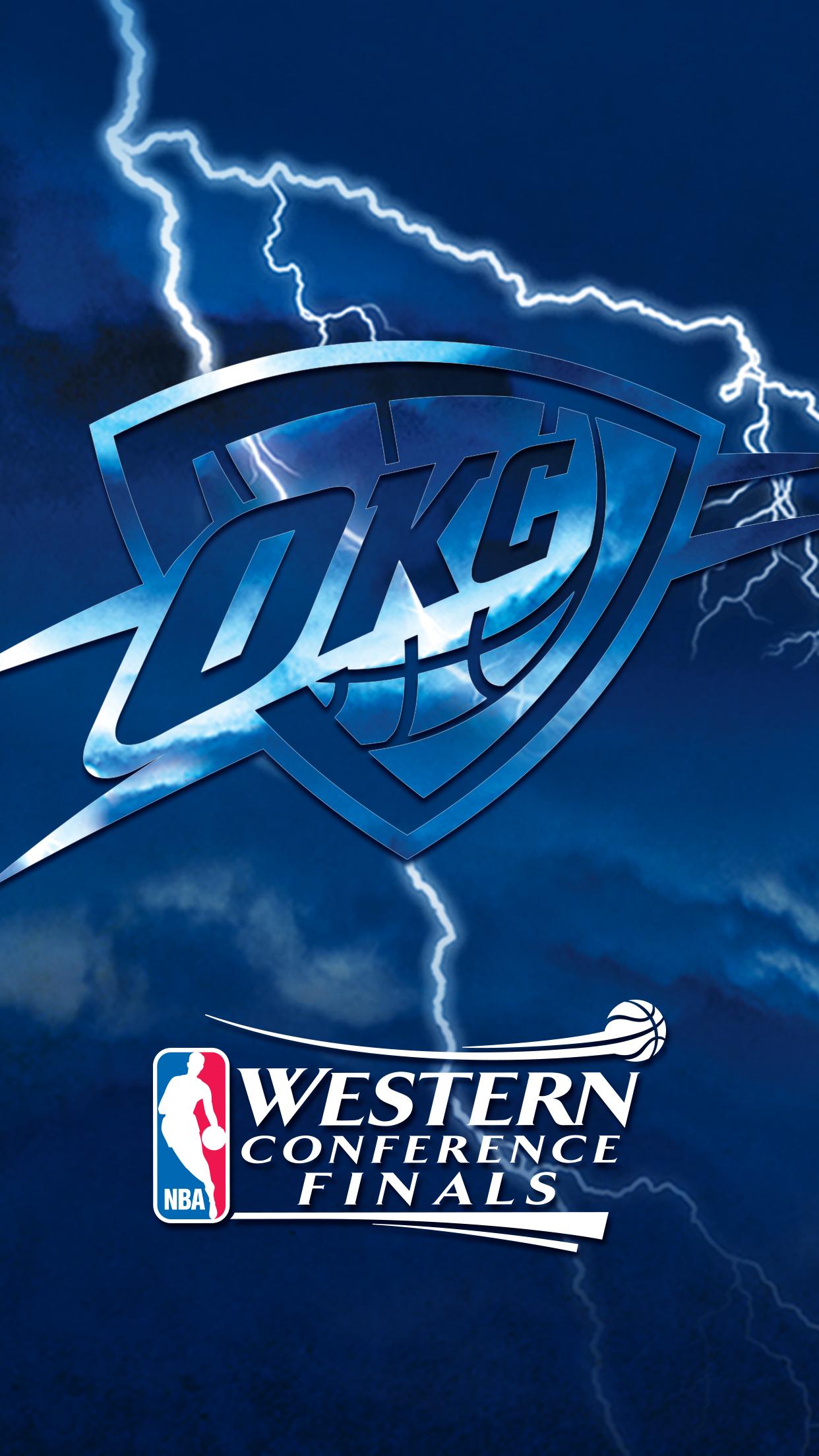 Thunder Playoffs Wallpapers Oklahoma City Thunder 1242x2208