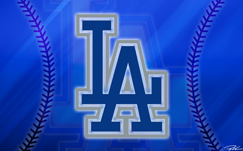 Los Angeles Dodgers Logo Wallpaper More Los Angeles Dodgers 800x500