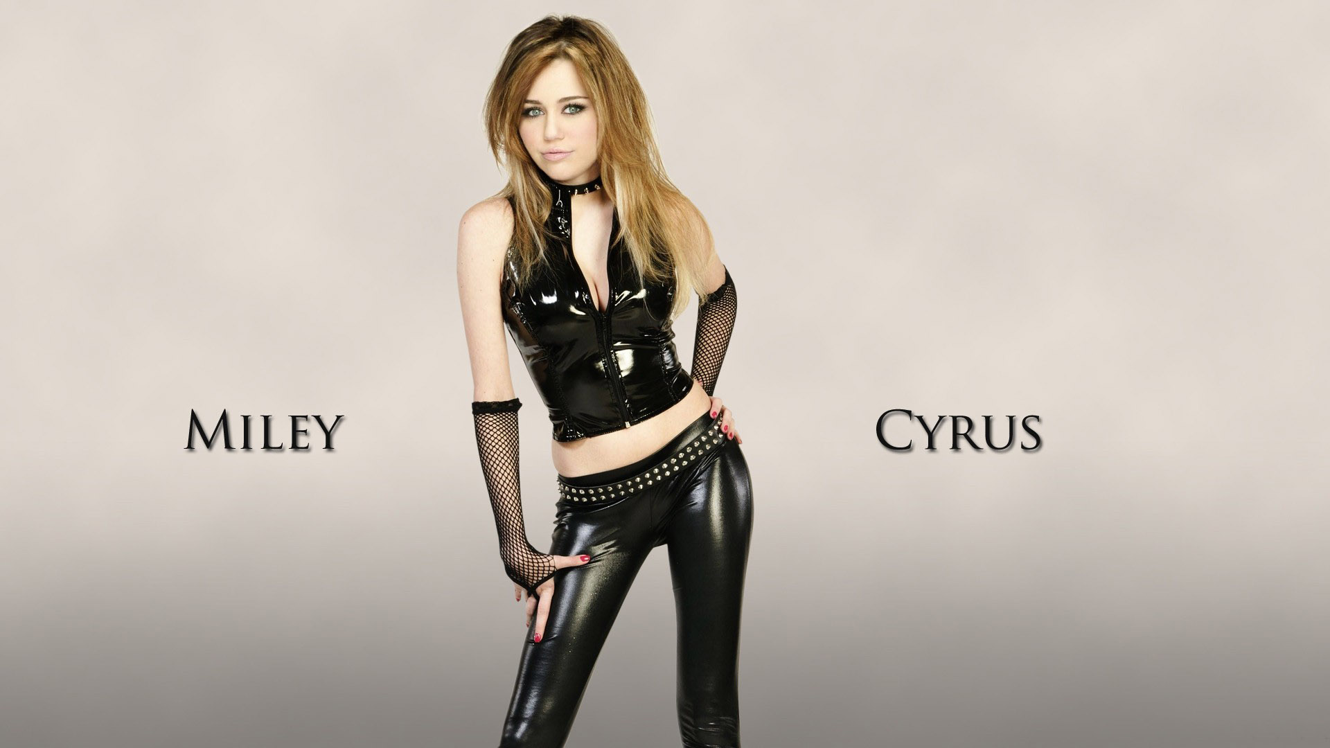 Miley Cyrus 2015 Latex Wallpaper 1920x1080