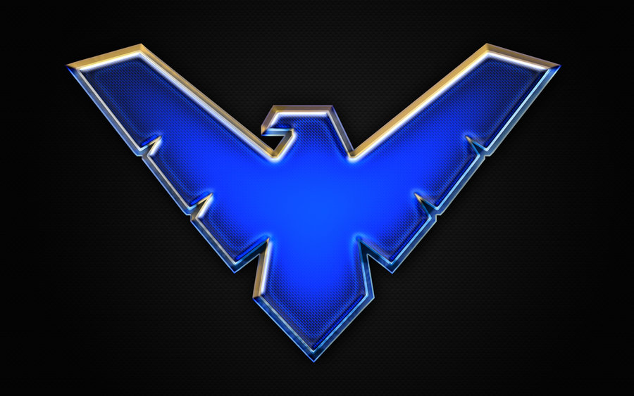Nightwing logo Wallpaper by Benokil 900x563