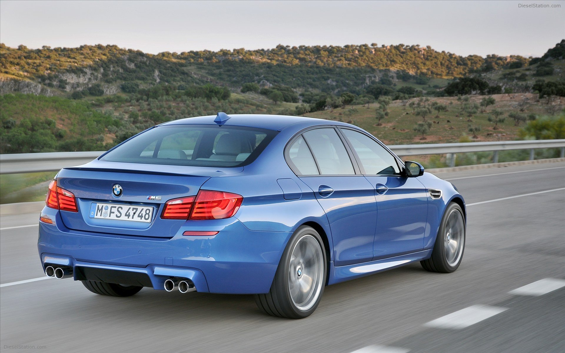 BMW M5 Saloon 2012 Widescreen Exotic Car Wallpapers 08 of 86 1920x1200