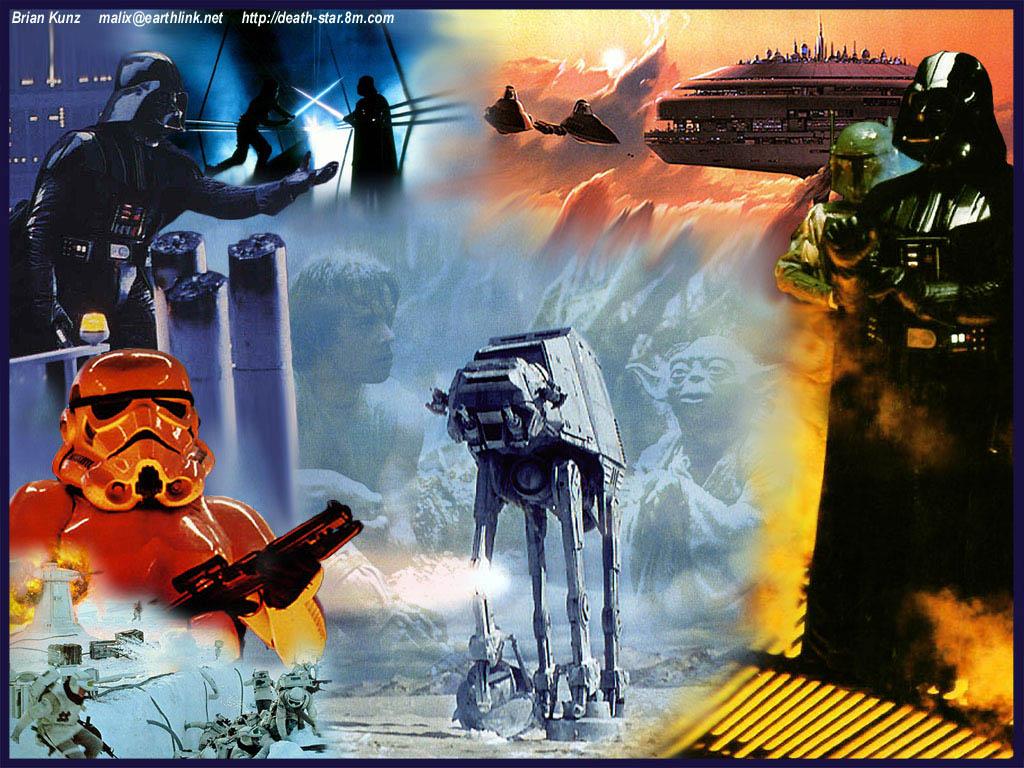 Free Download Star Wars Wallpaper Empire Strikes Back Collagejpg