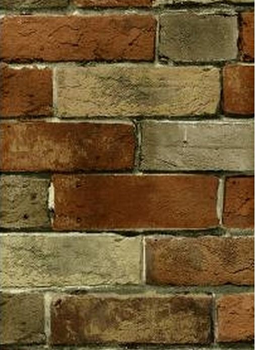Distressed Tuscan Brick and Mortar Wall Old by WallpaperYourWorld 506x694