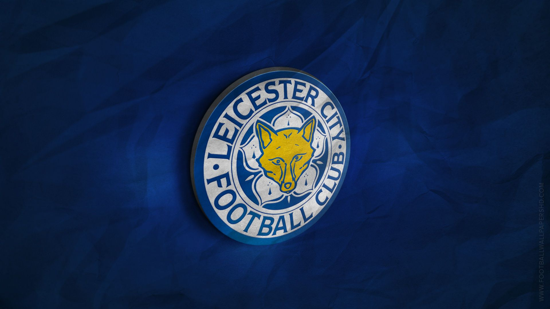 Leicester City 3D Logo Wallpaper Football Wallpapers HD 1920x1080