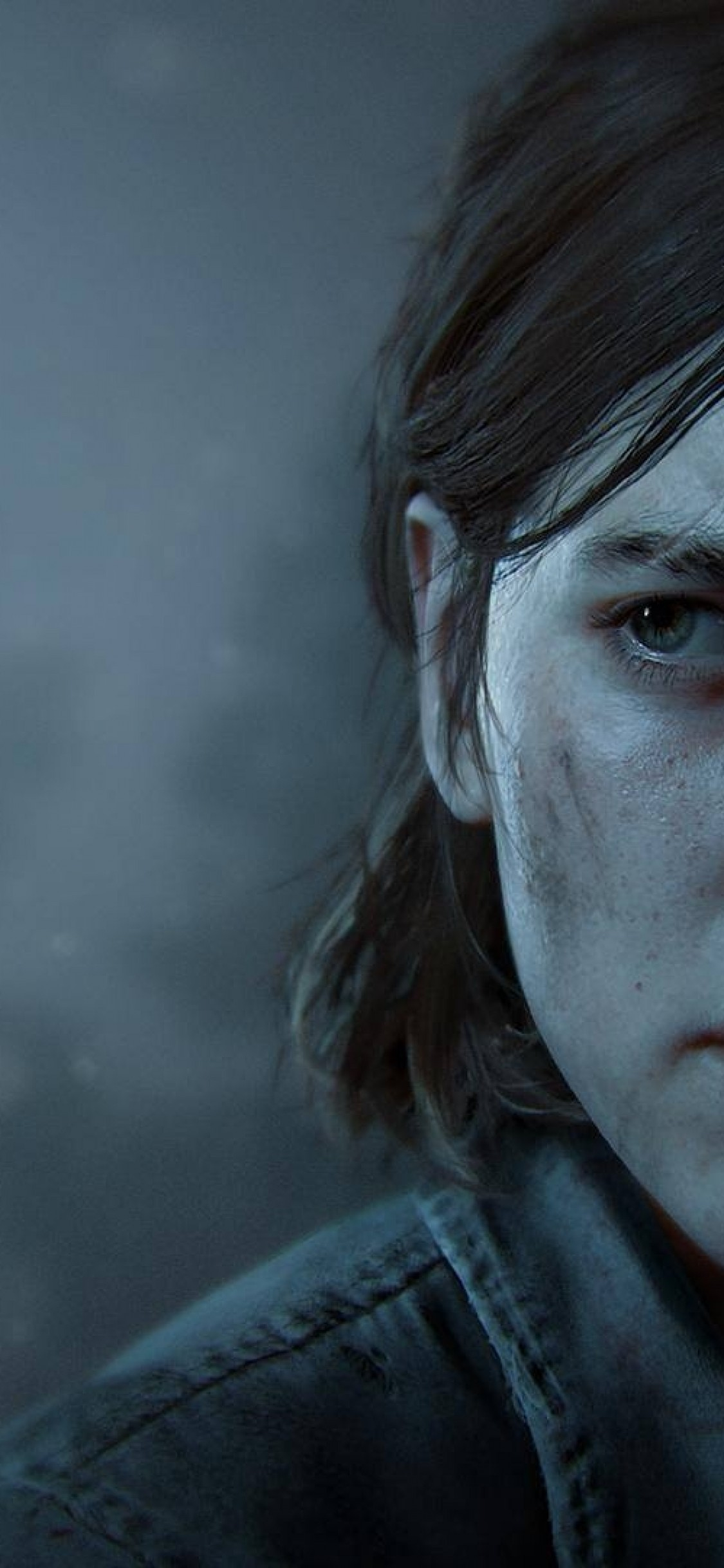 Download 1125x2436 The Last Of Us Part 2 Ellie Face Portrait 1125x2436