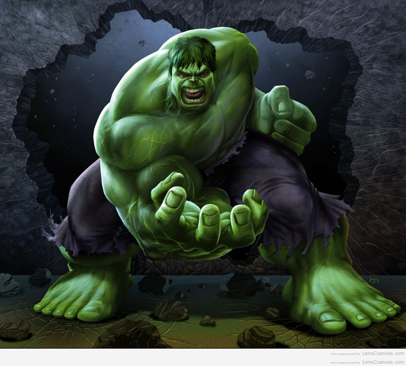 Free Download The Incredible Hulk Hd Wallpaper 1400x1262 For
