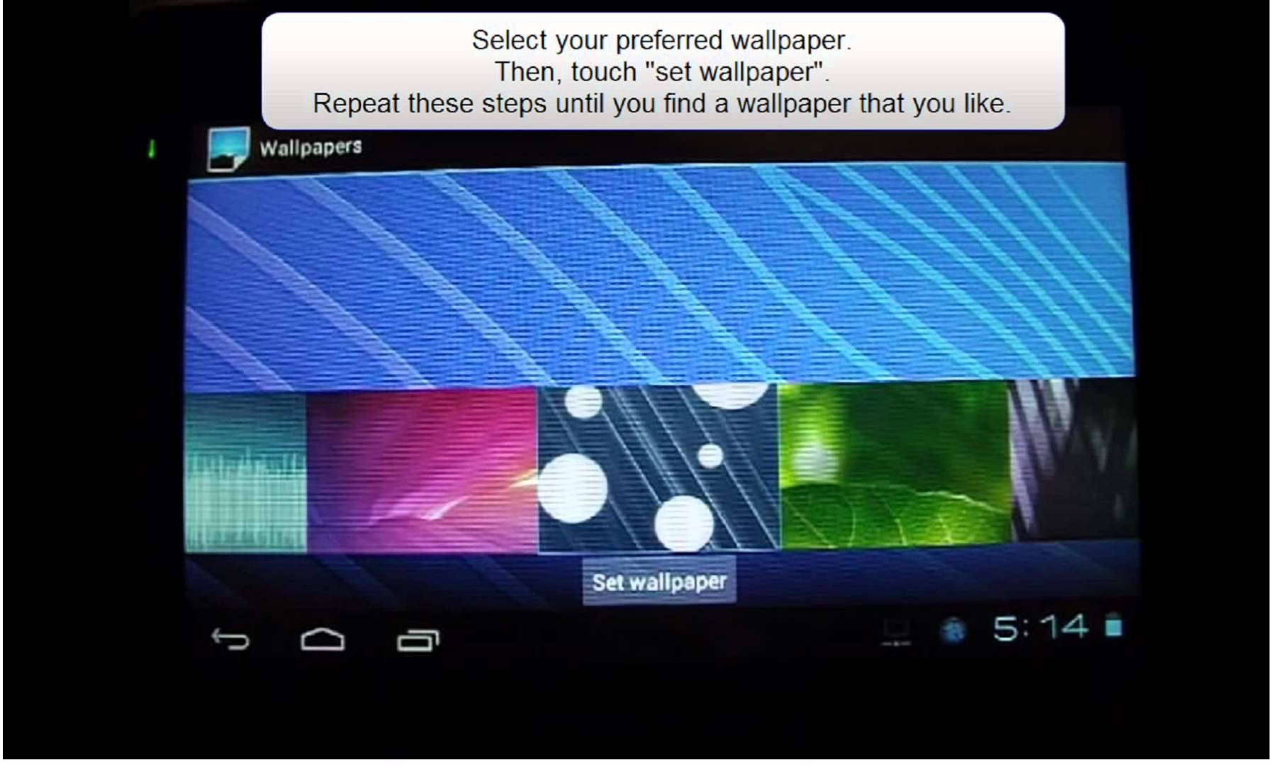 How To Change The Wallpaper On Your Android Tablet For 1794x1080