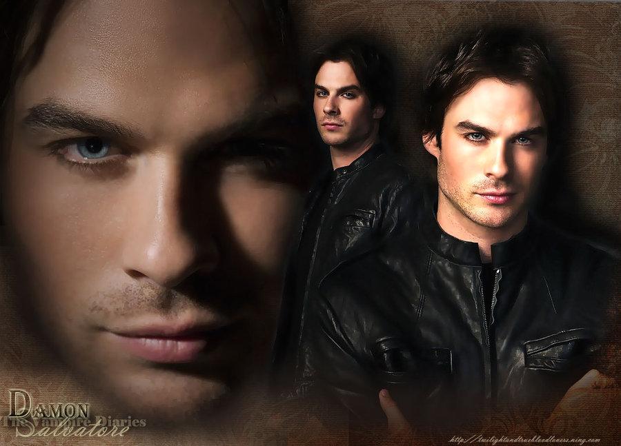 Damon the Vampire Diaries by 900x647