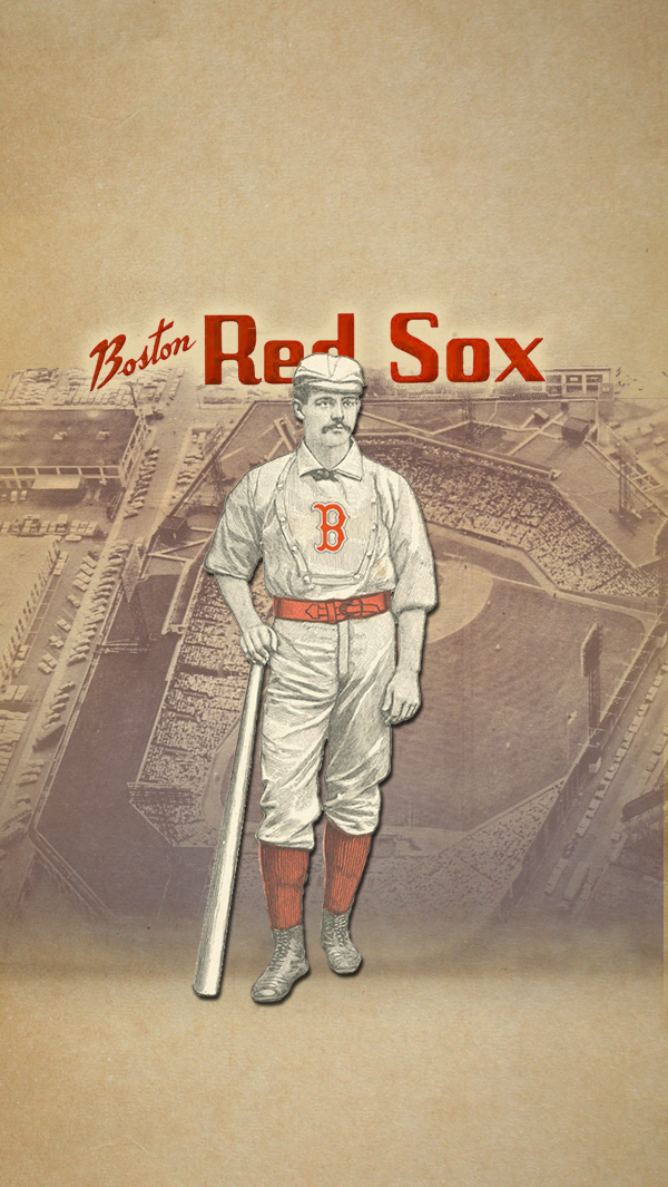 Boston Red Sox iPhone 5 Wallpaper by LicoriceJack 600x1065